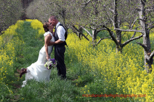 Roanoke Dream Wedding Winners at their recent wedding. Photo by McMillan and Wife Photography