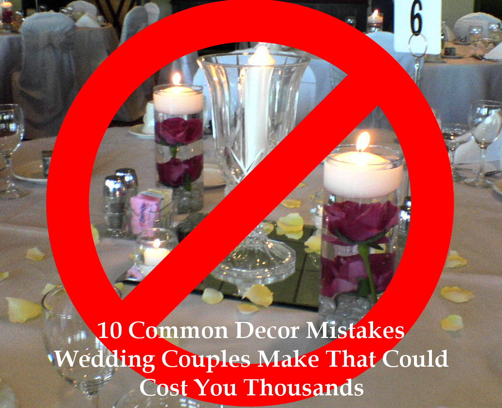 10 Common Wedding Decor Mistakes Bloomedtolast Photo1