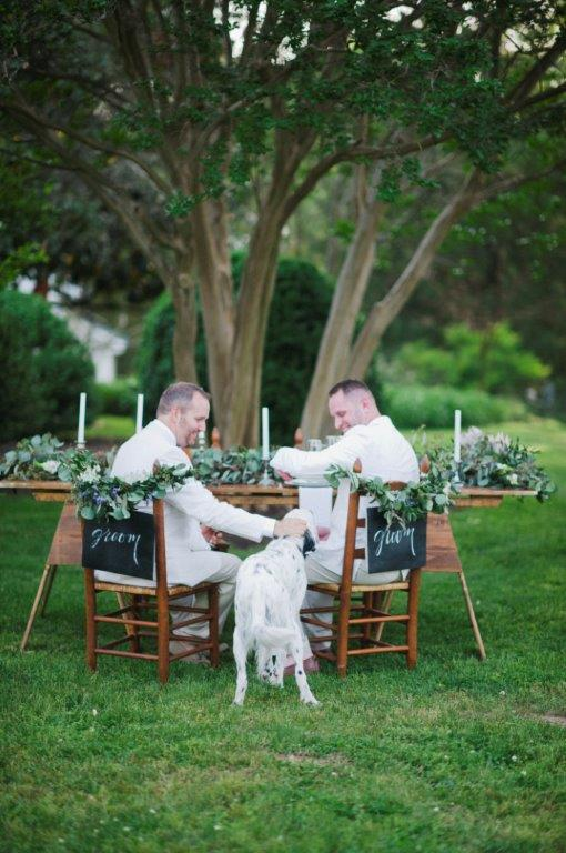 Two Grooms Shoot at Cary Hill by Kimie James of IYQ Photography for Va Bride (144)