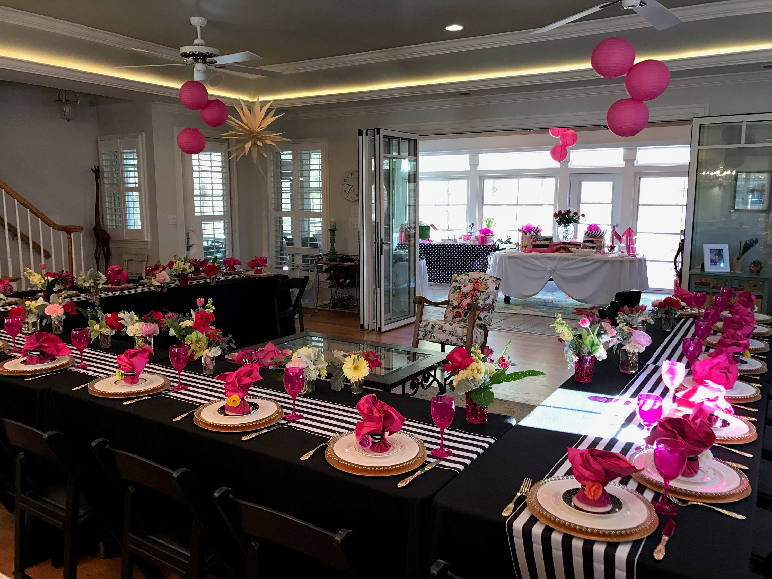 Kate Spade Decorating Tips: Bridal Shower Inspiration- Kate Spade Theme