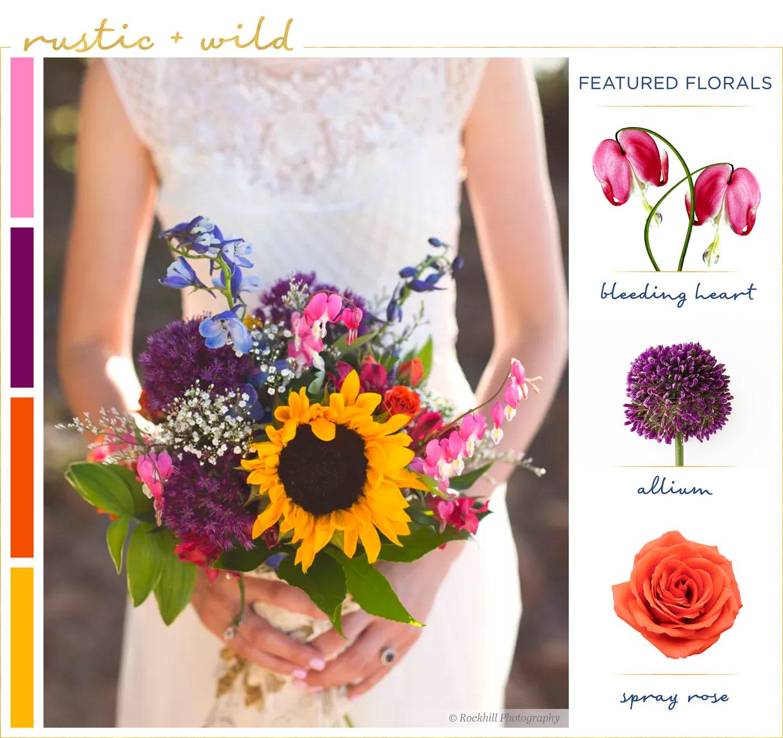 Sunflower Wedding Bouquet Ideas: Sunflower-wedding-bouquets-6